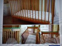 Mothercare cot in good used condition with mattress