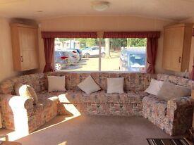 CHEAP 2 bedroom bargain holiday home static caravan sea views essex coast