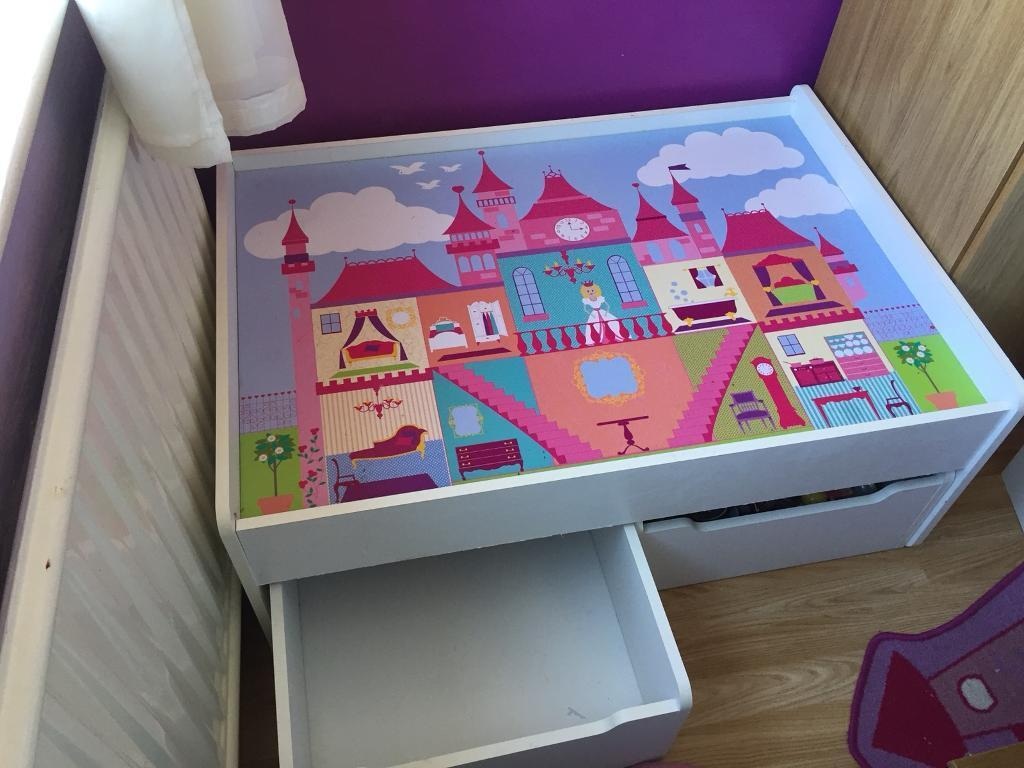 Princess Castle Design Legodoll Wooden Play Table In Wigston Leicestershire Gumtree