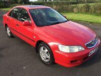 2001 Honda Accord 2.0 V-tec Automatic 4dr 1yrs Mot 3 mth warranty