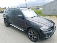 2007 BMW X5 3.0D SE SEMI-AUTO 5 DOOR HATCHBACK BLACK 4X4 12 MONTHS M.O.T 7 SEATER