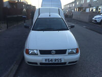 2001 VW Caddy Van 1.9 TDI Diesel with 104k miles and tow bar