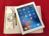 Apple iPad 2 64GB WiFi, White Silver, WARRANTY, NO OFFERS