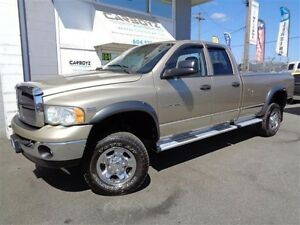 2004 Dodge Ram 2500 SLT 4x4 Quad 8Ft. Box, 2 Inch Lift, Toyo A/T
