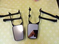 Pair of Towing Caravan Mirrors.