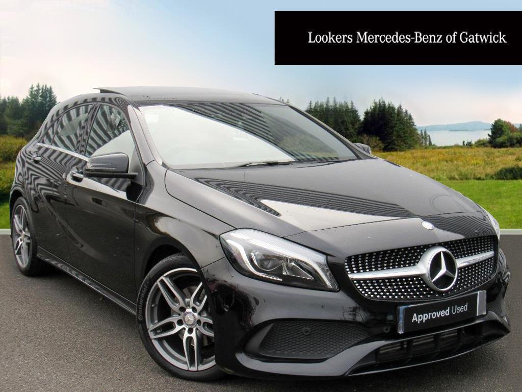 Mercedes-Benz A Class A 200 D AMG LINE PREMIUM PLUS (black) 2017-03-25