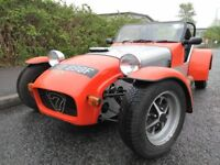 1968 LOTUS SEVEN 7 REPLICA KIT CAR, CATERHAM WESTFIELD ROBIN HOOD TIGER FORD TRACK TAX EXEMPT
