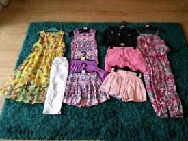 Girls summer clothing bundle 7-8 years