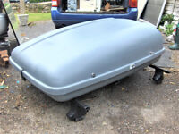 THULE KARRITE CAR TOP BOX CARRIER.FREE DELIVERY B,MOUTH POOLE LYMINGTON