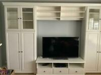 Large over tv unit