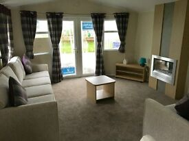 AMAZING STATIC CARAVAN FOR SALE AT CRESSWELL NEAR NEWCASTLE SANDY BAY WHITLEY BAY AMBLE LINKS BLYTH