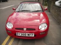 mgf 12 months mot new tires all round