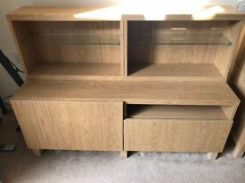 IKEA Besta cupboard and shelving units