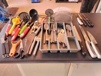 Kitchen stuff ( Ikea cutlery set and others)