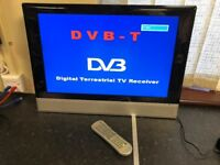 """Proline Kesa LVD2286WD 22"""" Digital Tuner and HD Ready TV with built-in DVD player."""