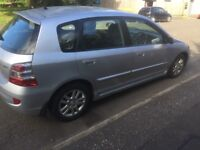 LOW MILEAGE HONDA CIVIC 2004 FULL YEAR MOT EXCELLENT CONDITION
