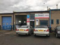 Mot testing, servicing, hid xenon lights, tyres, gel number plates, air con regas.. garage