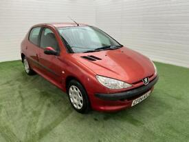image for Peugeot 206 1.4 petrol with low miles and long mot