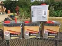 Ronseal Ultimate Protection Decking Oil.