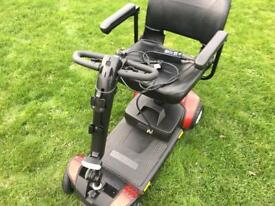 Pride go go traveller LX model boot scooter