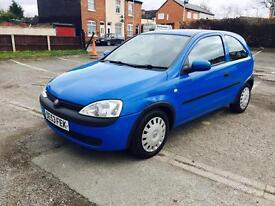 Vauxhall corsa 12v 1.0 blue 2003