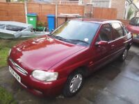 Ford escort 1.8 16V Ghia full MOT