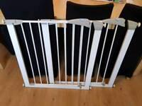 Pair of lindam pressure fittings stair gates