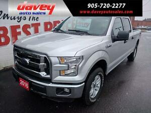 2016 Ford F-150 XLT 4X4, CREWCAB, BLUETOOTH