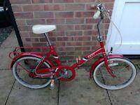 BSA vintage folding bike