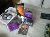 Mix of Jazz CD's