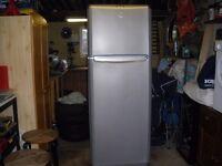 Fridge Freezer, silver colour. Excellent condition.