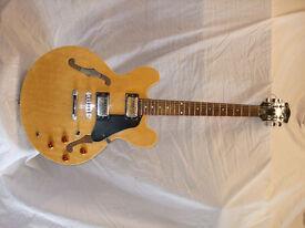 Jim Deacon semi-acoustic guitar