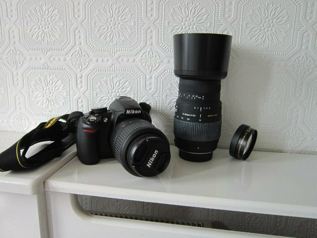 Nikon D3100 camera  | in Hull, East Yorkshire | Gumtree