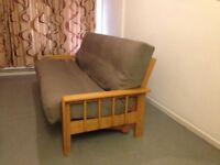 Futon Company Vienna 3 Seater Sofabed Top of the Range Double Futon Sofa bed Cost £900 VGC