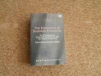 Finance and Economics Textbooks (£40 O.N.O)