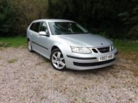 Saab 9.3 1.9 TiD, 150 bhp , Estate, 1 Owner, Mot May 18, just serviced, New Clutch, Service History