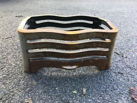 Cast iron fire grate for fireplace £15.00