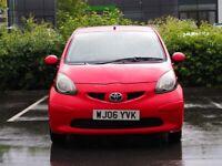 Toyota, AYGO, Hatchback, 2006, Manual, 998 (cc), 3 doors