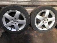 5 stud Peugeot alloys