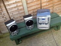 Sound System - CD, Tape, Record Player, Radio & Speakers