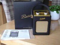Robert Revival Retro mains/ battery DAB/DAB+/FM RDS Digital Radio