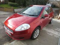 Fiat Grande Punto 1.4 Dynamic Hatchback 5dr Red Petrol Manual (145 g/km, 77 bhp)