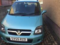 Vauxhall Agila 2005, 55 plate, 5 door, twinsport 1.2