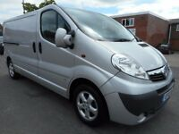 FINANCE ME!! NO VAT!!Stunning Vauxhall Vivaro rare twin side loading door with only 59k from new!!