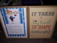 Teacher's appreciation frames
