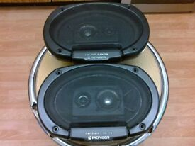 Pioneer 3- Way Car Speakers TS -6988 250W