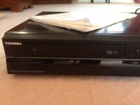 TOSHIBA RDXV60kb HDD/DVD/VCR RECORDER COMBI with digital tuner 320GB hard disk drive DVD