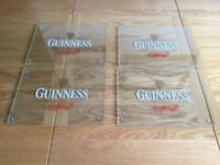 Guinness glass placemats set of 4