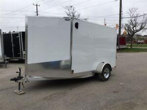 2017 Canadian Trailer Company 7'x10' V-Nose Cargo Trailer
