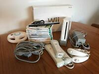 Nintendo Wii and 8 Games